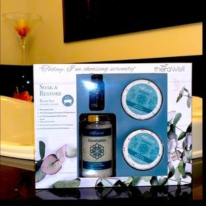 THERAWell Home / 4 PC Soak & Restore Bath Set NIB